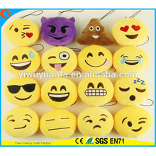 Hot Selling High Quality Novelty Design Emotion Plush Emoji Pillow