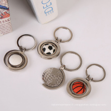 Porte-clés pour adulte en métal design personnalisé