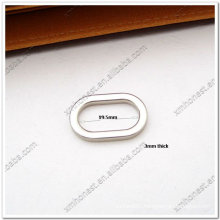 oval flat bag ring