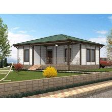 Logement préfabriqué, structure en acier léger Villa (MV-07)