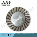 100mm Aluminium Body Diamond Turbo Cup Wheel
