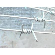 (BWG14*14 или BWG16*16 с 1.6 мм 2.1 мм 2.5 мм Диаметр проволоки) электрическая/горячая Окунутая колючая проволока