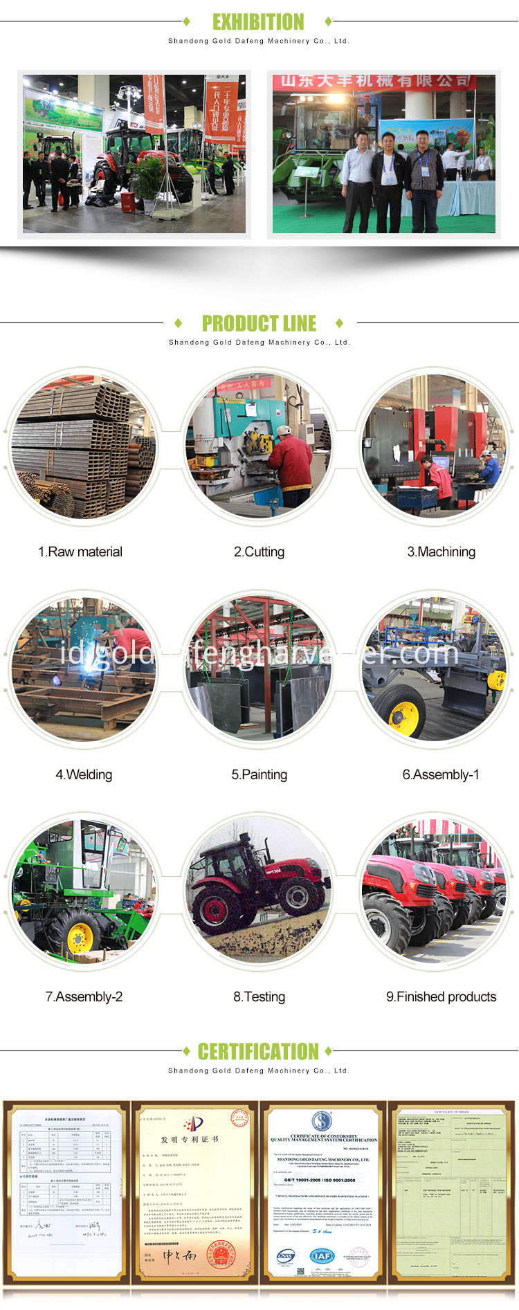 corn cutting machine process