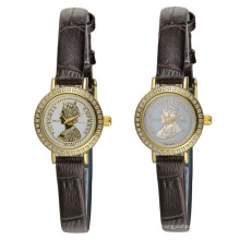 Gift Waterproof Stainless Steel Couples Wristwatch