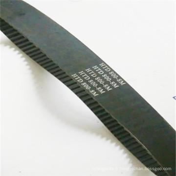 Caoutchouc industriel courroie / courroie de ventilateur / V Belt (HTD-800-8M-42)