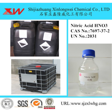 Label peratusan Nitric Acid 68