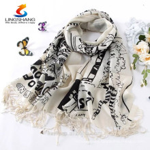 New Women 100% Pashmina Cashmere Scarves Wool Shawl Wrap Long Scarf Stole
