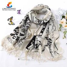 Mulheres Novas 100% Pashmina Cachemira Cachecóis Wool Shawl Wrap Long Scarf Stole