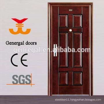 ISO9001 Exterior Yongkang Manufacturer Security Steel Door