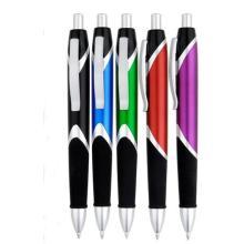 Le stylo à bille en plastique de cadeaux de promotion Jhp841