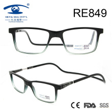 2017 Gradient Fashion Plastic Magnetic Reading Glasses (RE849)