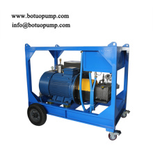 1000bar 14500psi ultra high pressure cleaning machine