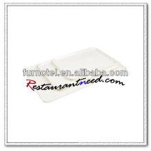 Bandeja de exibição de melamina V288 Off White