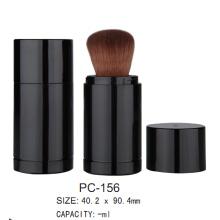 Round Plastic Loose Powder Case PC-156