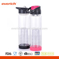 2016 Wholesale Cheap Plastic Water Bottle With Fruit Infuser