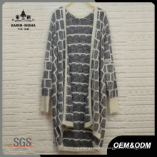 Ladies Striped Cardigan Knit Clothes