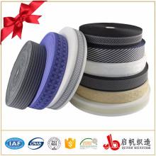 Colchón de poliéster con bordes de cinta adhesiva utilizada para colchones