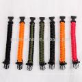 Rover Camel Outdoor Reflective Rope Lanyard Lifesaving Emergency Survival Bracelet Work 9-cores Bracelet