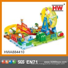 Новый дизайн 48PCS B / O Ferris Wheel Park Железнодорожный набор игрушек
