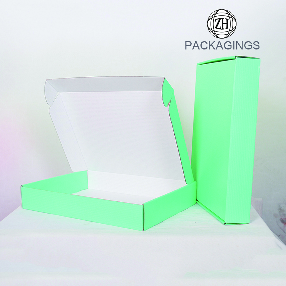 Double side print suite shipping box