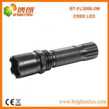 Factory Sale CE High Power Aluminum Best Americal CREE led 3watt Multi-function 1101 Police led Torch Flashlight Light