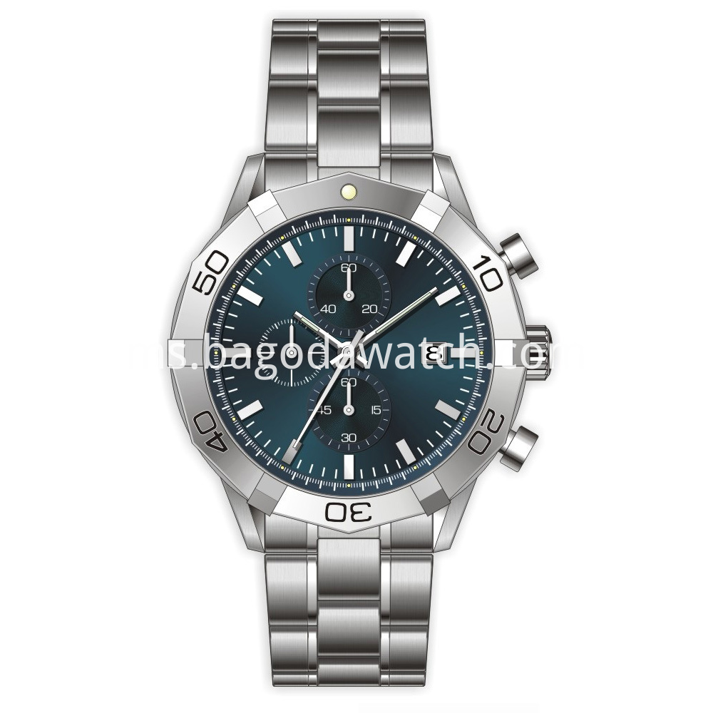 men luxury stainless steel watches