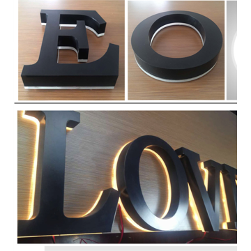 Custom Shop Front Signs Metal Letters para la venta