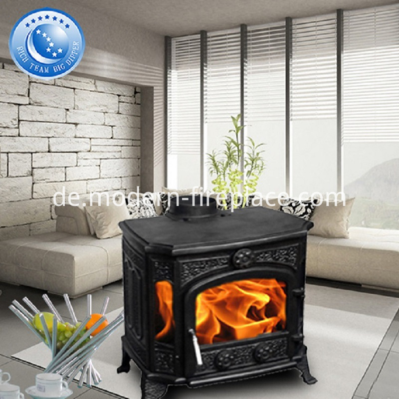Backyard Antique Wood Burning Fireplaces With Stainless Steel Chimney Liner