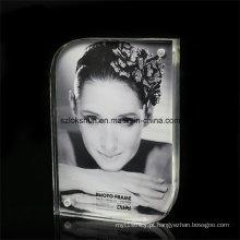 Moldura de foto acrílica de dois lados para exibição de imagem