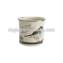 Enamelware 2015 heiße verkaufende volle gesetzte antike Kaffeemaschine mit Schale