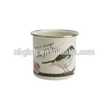 Enamelware 2015 venda quente conjunto completo cafeteira antiga com copo