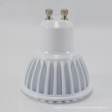 Copo da lâmpada da COB do diodo emissor de luz GU10 / MR16 / E27 / Gu5.3 / E12 3W / 5W