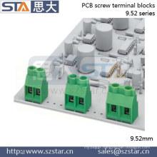 Screw Terminal Type 100 amp 9.52mm pcb screw clamp terminal blocks