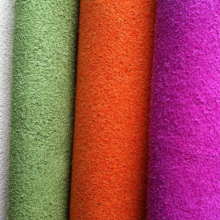 100% Polyester Microfiber Clorful Vải trong Rolls