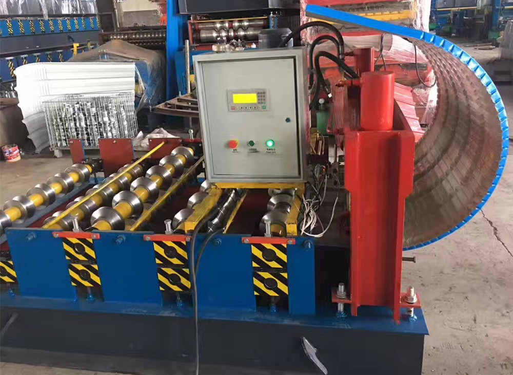 Arch Roofing Sheet Curving Forming Machine