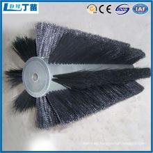 deburring dust elimination abrasive strip brush
