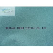 Poly floqué coton tissu pour ameublement
