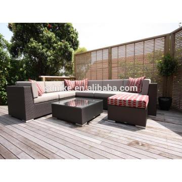 cheap rattan morden garden sofa + cheap chinese outdoor sofa furniture