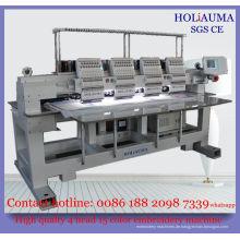 4 Kopf High-Speed-Dahao Computer-Stickerei-Maschine / Multi Leiter Multi-Funktion-Stickmaschine