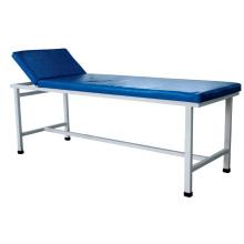 Cama de examen de altura ajustable de acero hospitalario