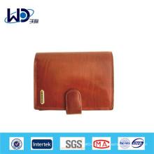 Benutzerdefinierte Leder Frauen Brieftasche