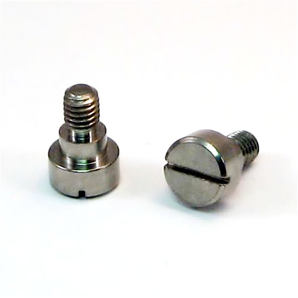 Cup Head Slotted Shoulder Screw