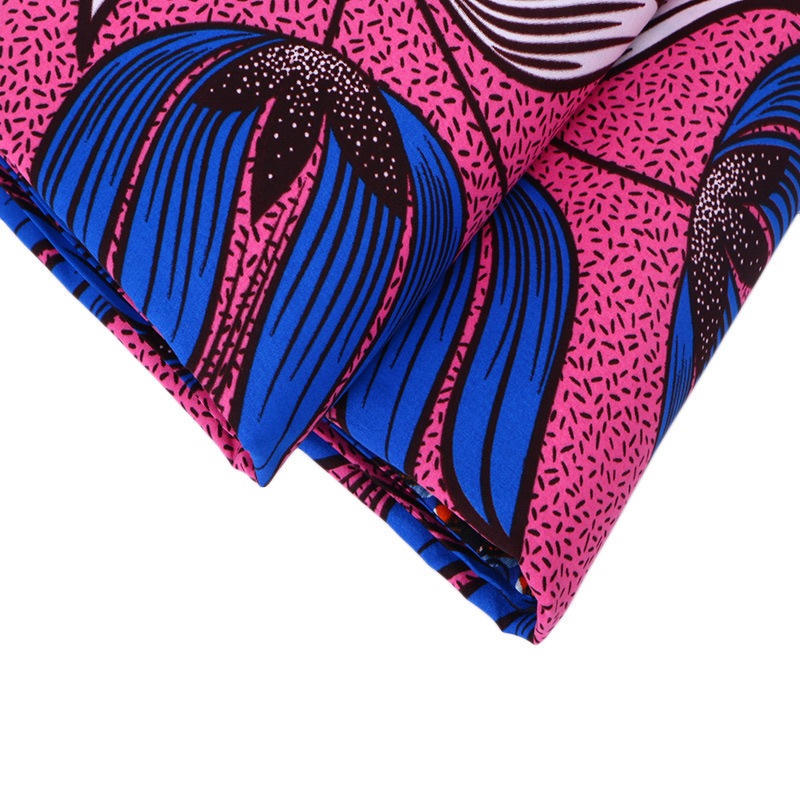 2018 African Fabric Polyester Wax Prints Fabric