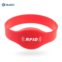 Supplier of Combi RFID Silicone Wristband / Bracelet / Hubei