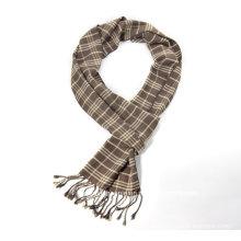 Кашемир шарф женщин с изготовленным на заказ Логосом/равнина шарф