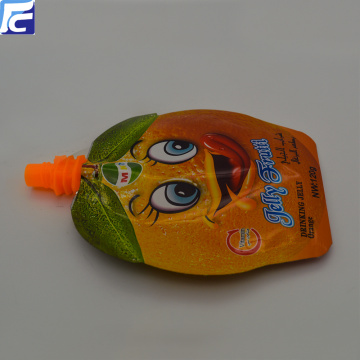 Sac de jus de fruits refermable Ziplock Spout Pouch Bag