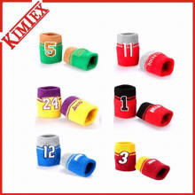 Promotional Sports Wristband with Logo Embroidery