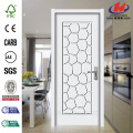 White Louver Plastic Sheet Laminate Cabinet Interior Door