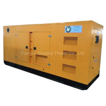 480kw 600kVA Звукоизоляционный Тип Тепловозный генератор с Perkins 2806c-e18tag1a Модель двигателя