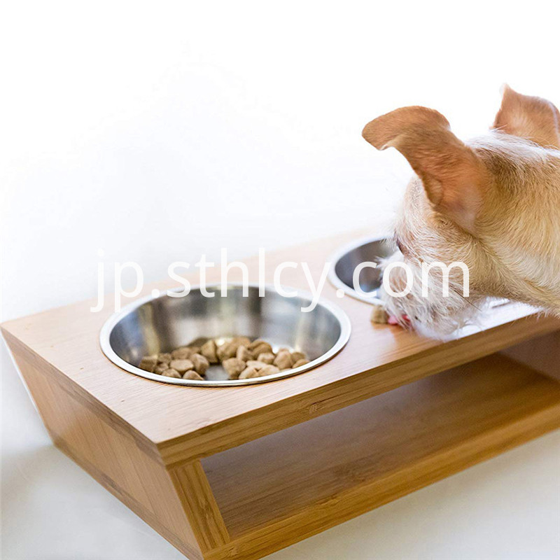 Stainless steel feeding bowl mat holder